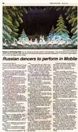 Mobile, AL-  Russian Seasons Ballet